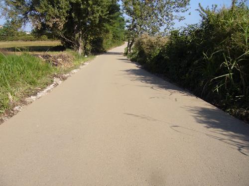 Pavimentazioni naturali in terra stabilizzata